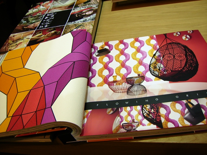 Papel pintado barcelona en heimtextil 2015 papel pintado - Papeles pintados barcelona ...