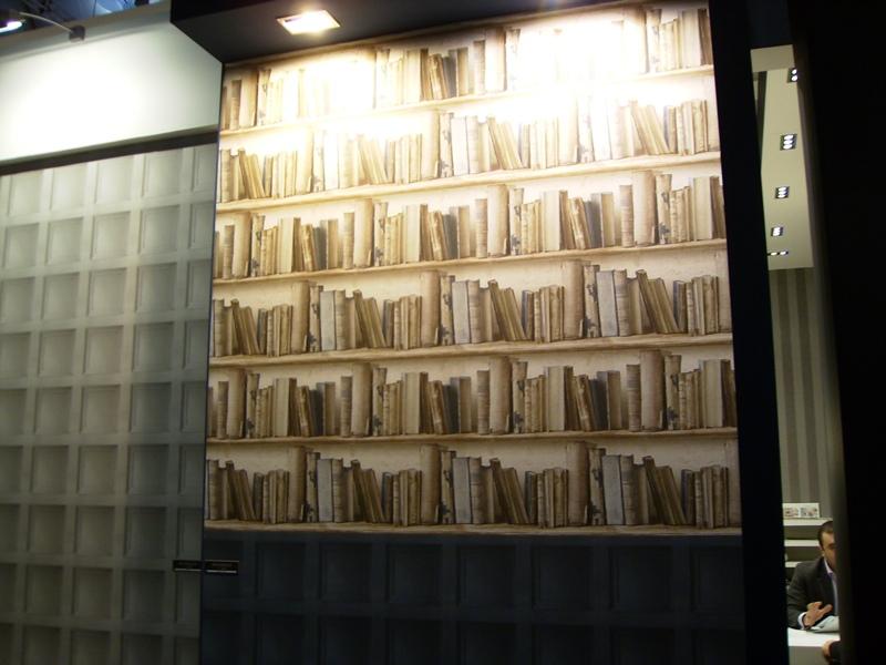 Papel pintado Librería Gran Deco
