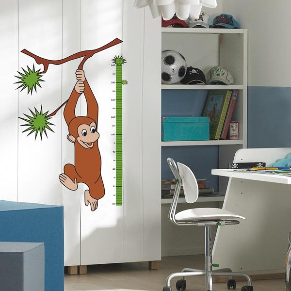 Adhesivo mono medidor de altura