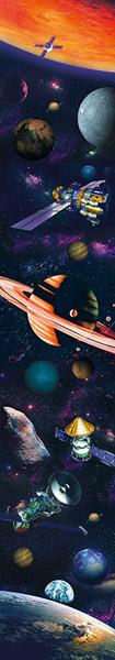 Franja deco 74505 Universo