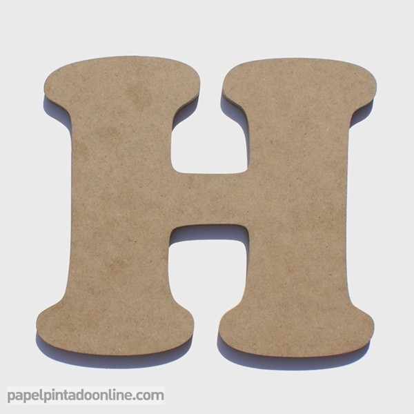 Letra de Madera H 20cm