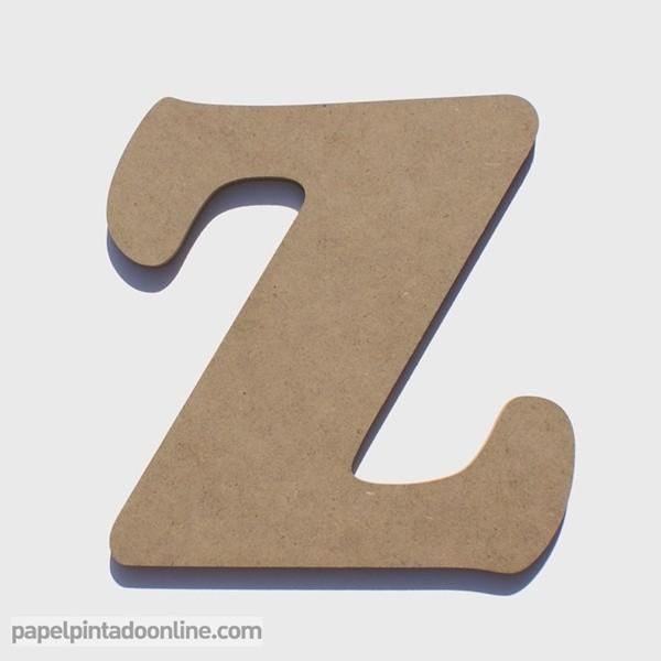 Letra de Madera Z 20cm