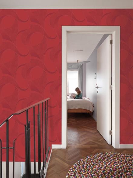 Uptown diseño en rojo