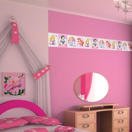 Cenefa Princesas Disney