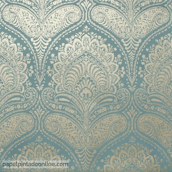 Papel pintado milan decoraci n elegante en la tienda papel - Papel pintado y vinilo ...