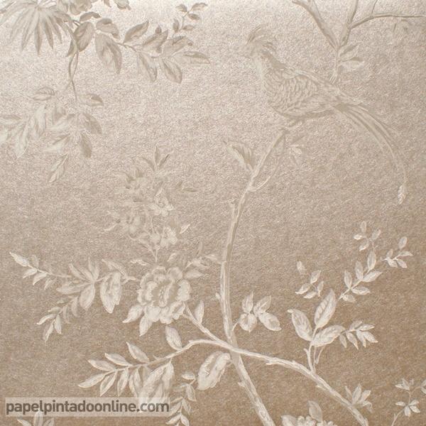 Papel pintado milan decoraci n elegante en la tienda papel - Catalogo de papel pintado para paredes ...