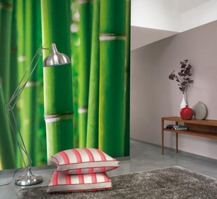 Fotomural bambú grandes cañas