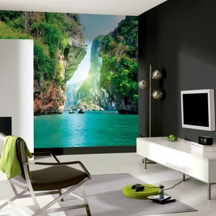 Fotomurales de paisajes naturales a medida papel pintado - Papel pintado paisaje ...
