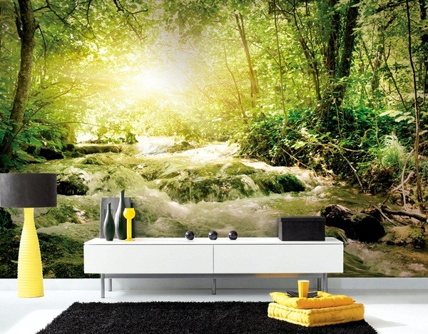Fotomurales de paisajes naturales a medida papel pintado for Fotomurales decorativos