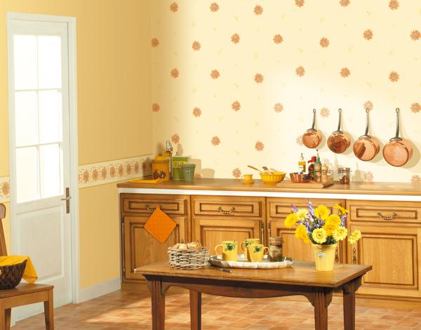 Empapelar una cocina papel pintado barcelona for Cocinas empapeladas