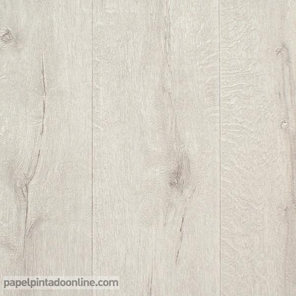 Papel pintado new walls papel pintado barcelona - Parquet blanco envejecido ...