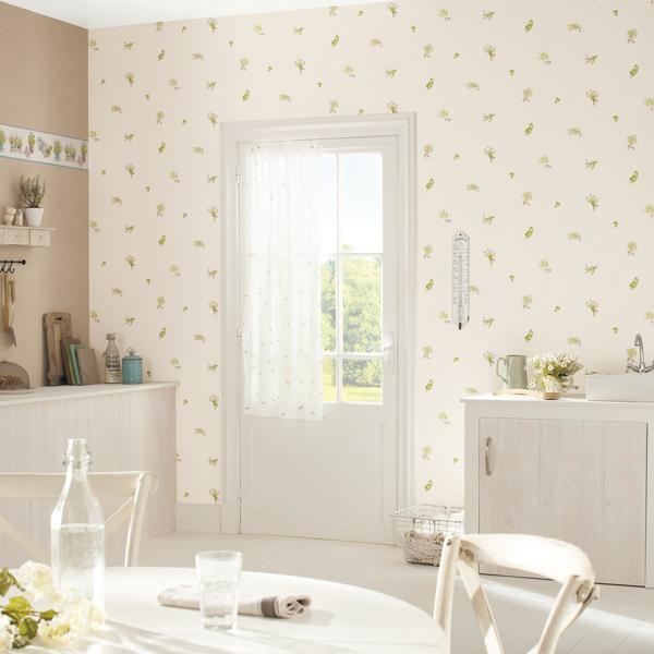 Empapelar una cocina papel pintado barcelona - Papel pared cocina ...