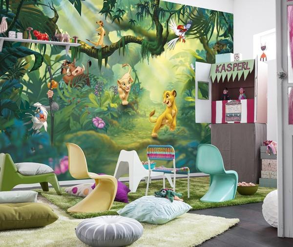 Ltima tendencia en decoraci n de habitaciones infantiles papel pintado barcelona - Habitaciones infantiles barcelona ...