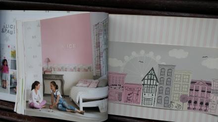 Comprar papel pintado casadeco infantil juvenil papel - Papel pared barcelona ...