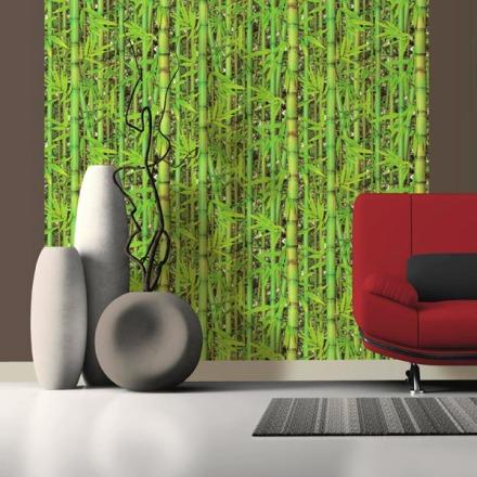 Papel Pintado Cañas De Bambú