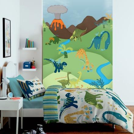 Mural dinosaurios infantil