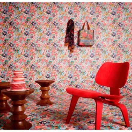 Papel pintado floral Oilily 96121-2