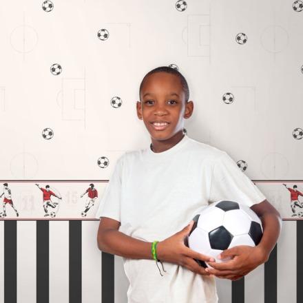Papel pintado fútbol