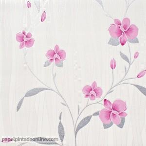 Papel pintado flores 9745-05