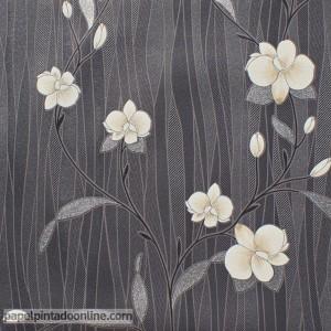 Papel pintado flores 9745-15