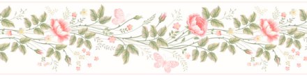 Cenefa Floral CEF001