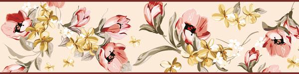 Cenefa Floral CEF0017