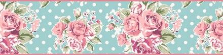 Cenefa Floral CEF003