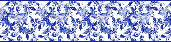 Cenefa Floral CEF006