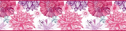 Cenefa Floral CEF007