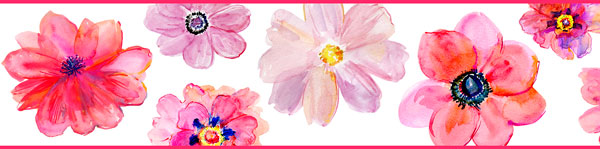 Cenefa Floral CEF008
