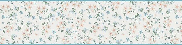 Cenefa Floral CEF010
