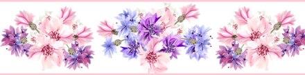 Cenefa Floral CEF012