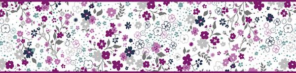 Cenefa Floral CEF014