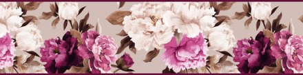 Cenefa Floral CEF015
