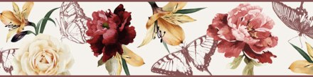 Cenefa Floral CEF018