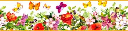 Cenefa Floral CEF019