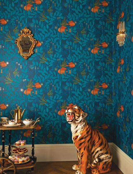 Papel pintado barcelona tienda de papel de pared - Papel pintado animales ...