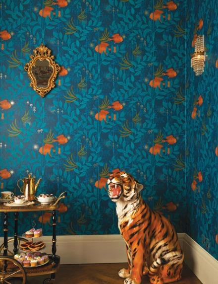 Papel pintado naturaleza animales marinos Whimsical