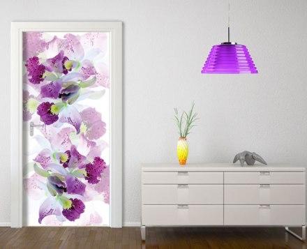 Fotomural puerta floral FTV-1535