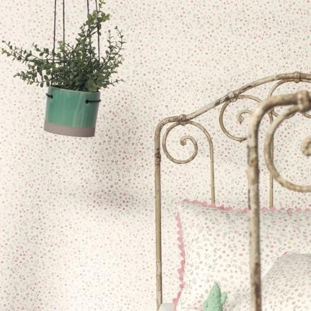 Papel pintado infantil florecitas My Little World