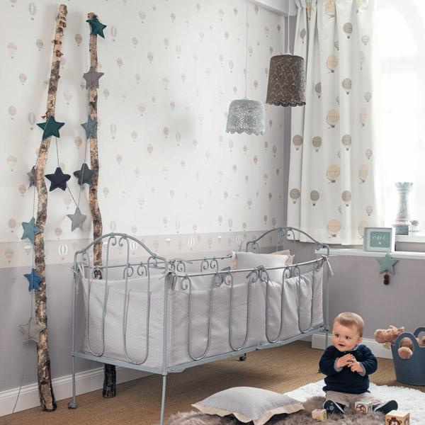 Papel pintado globos infantiles My Little World