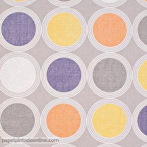 Papel pintado círculos Swing SNG_6892_32_24