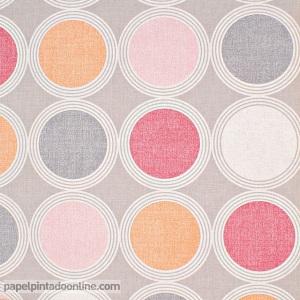 Papel pintado círculos SNG_6892_45_13