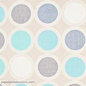 Papel pintado círculos SNG_6892_64_96