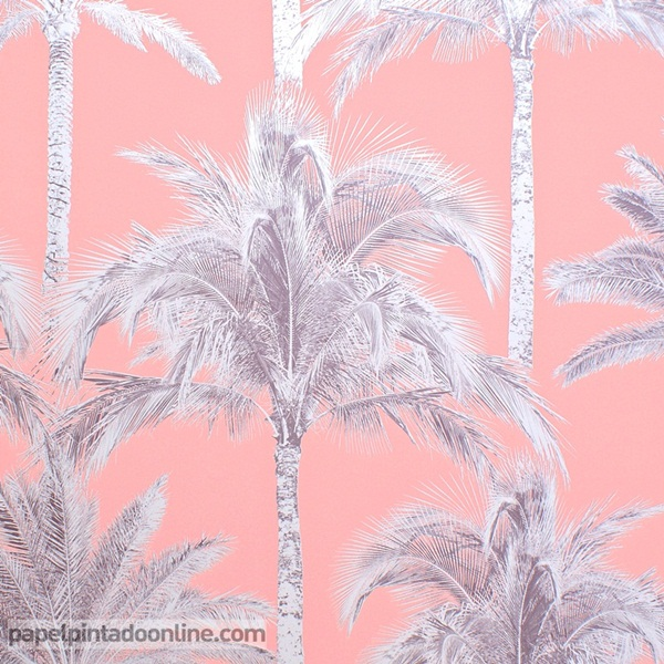 Papel pintado palmeras FD40905
