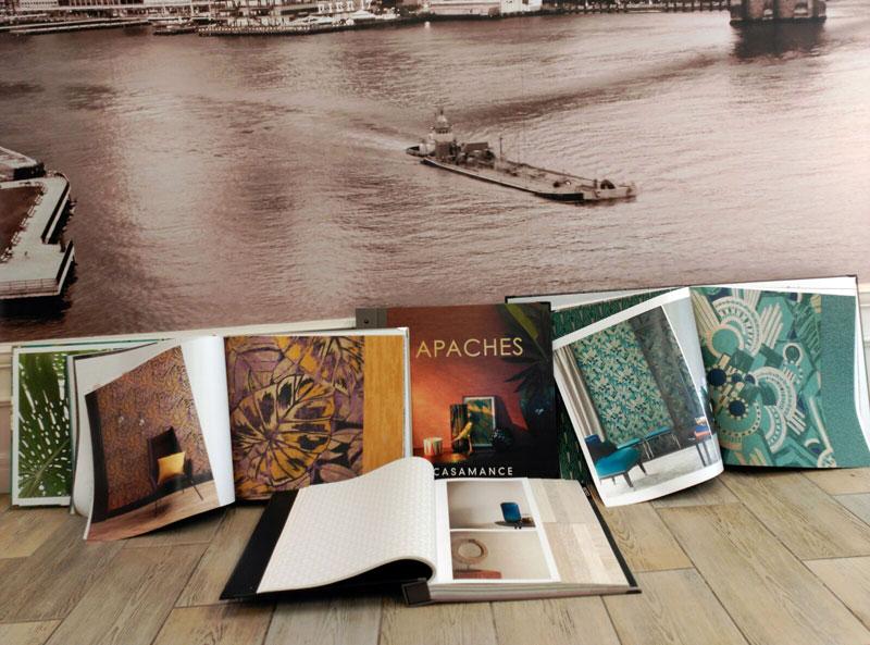 Nuevas colecciones papel pintado Casamance