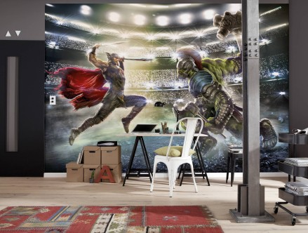 Mural Thor and Hulk 8-4031