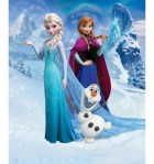 Mural infantil Frozen 42957