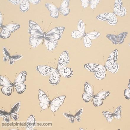 Papel pintado mariposas 951