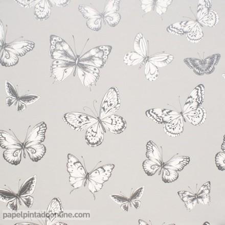 Papel pintado mariposas 952
